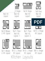Kitchen Layouts Model
