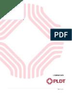 Chapter I Company Data PLDT