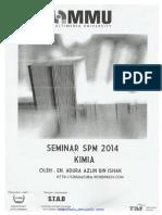 Bahan Bengkel Seminar Kimia SPM 2014 Complete