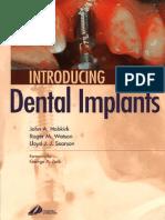 Introducing Dental Implants - John A. Hobkirk, Roger M. Watson, Lloyd Searson  .pdf
