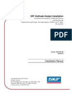 SKF @Ptitude Analyst Installation Manual – English