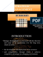 burberry strategy essay Porter five forces analysis is a strategic management tool to analyze industry and understand underlying levers of profitability in a given industry burberry group plc managers can use porter five forces to understand how the five competitive forces influence profitability and develop a strategy for enhancing burberry group plc competitive.