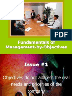 Formulating Objectives and Action Plans
