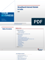 Broadband Internet Market in India_Feedback OTS_2014