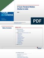 LT (Low Tension) Motors Market in India_Feedback OTS_2014