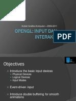 03 OpenGL Input Dan Interaksi