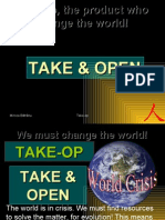 Takeop, the product who change the world.