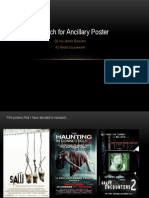 Ancillary Research Film Poster