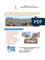 Why to Hire Experts for Roof Repair Jobs