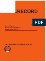 Highways Research