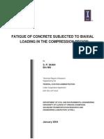 Fatigue Strength of Concrete