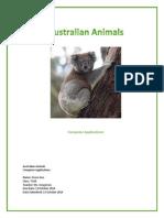 gee grace australian animals