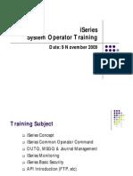 ISeries Training