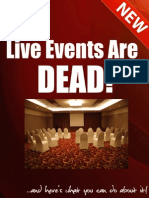 Live Events Are DEAD
