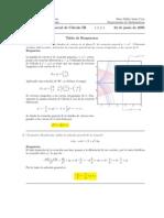 Corrección Segundo Parcial, Semestre II05, Cálculo III