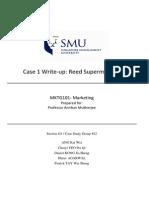 Case Write Up (Reeds)