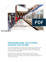Cyient Rail Solutions Across the Globe