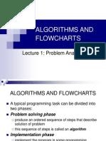 Lect1 - Algorithms and Flowchart