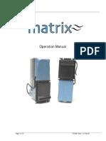 MATRIX Operations Manual VTIOM-1