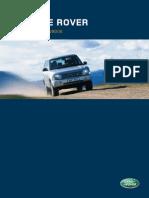 Range Rover Owners Handbook (2004)