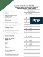 Thiroo- income tax -09-10
