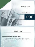 Drupal Camp NYC - Cloud Talk
