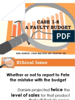 Case_A Faulty Budget