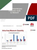 Cellintrafreqho Parameter Audit