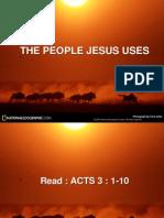 The People Jesus Use
