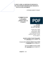 032 Dreptul Fiscal