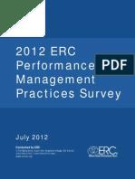 12 Performance Management Survey