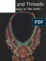 Bead - Beads and Threads - A New Technique for Fiber Jewelry