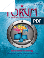 Educational Technology, UoY Forum Issue 34, Spring 2014