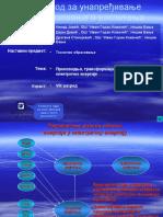 Proizvodnja,Transformacija i Prenosenje Elektricne Energije
