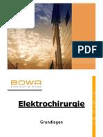 Grundlagen Der Elektrochirurgie