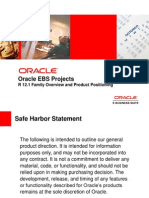 Oracle Projects Ppt