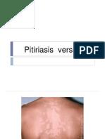 Pitiriasis  versikolor ppt