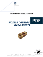 Hahn Nozzle Catalog 2011