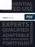 Capability Statement Not Print Ready Version