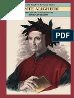 Harold Bloom, Harold Bloom-Dante Alighieri (Bloom's Modern Critical Views)