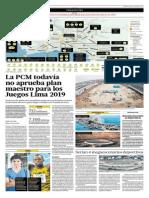 La PCM No Aprueba Plan Maestro Para Los Juegos de Lima 2019
