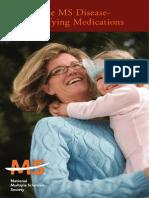 Brochure the MS Disease Modifying Medications