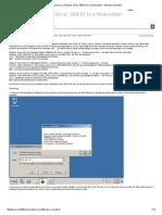 Windows Server 2008 R2 240 Days Evaluation