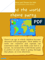 Around the World Theme Party for kids – Mocomi.com