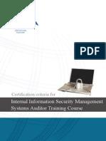 ISMS Internal