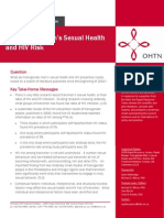Transgender Men's Sexual Health and HIV Risk
