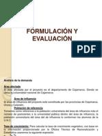 Formulacion y Evaluacion de un PIP