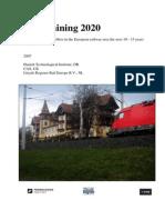 2007 Rail Training 2020
