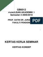 Kuliah 10 Tambahan PA1