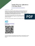 Como Desinstalar Diversos Aplicativos de Uma Vez Só.doc